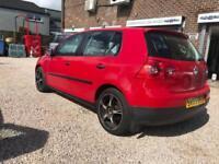 Volkswagen Golf 1.9TDI S RED DIESEL WARRANTY 12 MONTHS MOT FULL SERVICE HISTORY