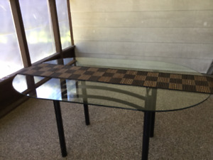Kitchen / Dining Glass Table