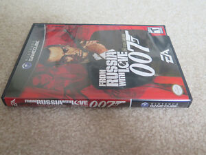 Nintendo Gamecube From Russia With Love James Bond 007 Game London Ontario image 2