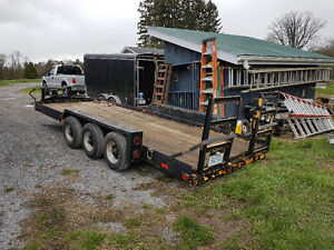 18 ton triaxle trailer  $4000.00