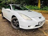 2001 Toyota Celica 1.8 VVT-i Coupe 3dr Petrol Manual (185 g/km, 140 bhp)