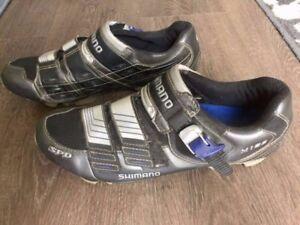 Shimano, SPD M182, Carbon Fibre Soles, Bike Bicycle Riding Shoes