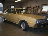 matcheing #s  super clean dodge dart swinger, 6 cyl automatic