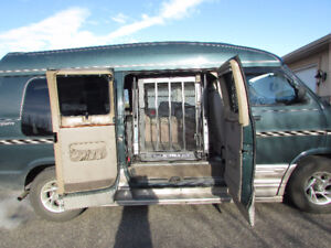 Wheelchair accessible 2002 Dodge Power Ram 1500 Van