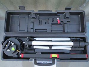 NEW LASER LEVEL WITH ADJUSTABLE TRIPOD