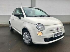 2010 Fiat 500 1.2 POP £30 Tax **White - Red Seats - Full History**