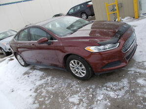 2016 FORD FUSION SEDAN Cash/trade/lease to own terms.