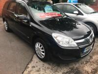 2009 58 VAUXHALL ASTRA 1.7 CDTI LIFE A/C ESTATE 1 OWNER FROM NEW IN MET BLACK