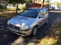 VAUXHALL CORSA SXI 1.2 PETROL, 12 MONTH MOT, LOW MILLAGE, 6 SERVICE STAMPS, 2 KEYS
