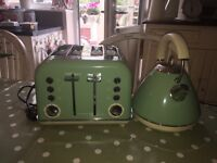 Russell Hobbs retro style kettle and toaster