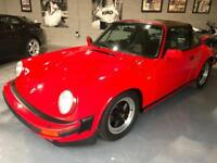 PORSCHE 911 S 3.2 CARRERA TARGA 1987 Guards Red SOLD
