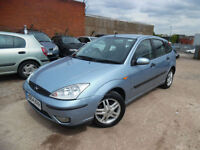 FORD FOCUS ZETEC 1.6 PETROL 5 DOOR HATHCBACK