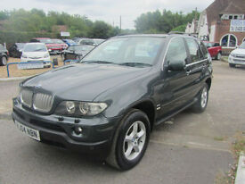 BMW X5 4.4 auto 2004MY SE,XENONS,SAT NAV,FSH