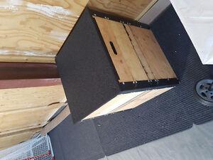 """Jump box, plyo box set 27"""""""