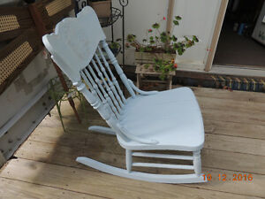 Chair, Ironing Board, Rocker, Table
