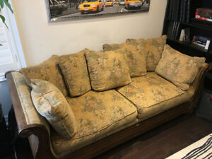 French Country Sofa Set