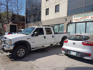 2004 Ford F-350 Safetied FX4 lariate Pickup Truck