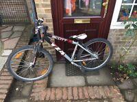 Scott voltage yz4 mountain bike teenage size £35