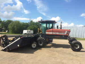 30ft. Macdon swather package.