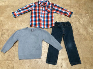 Boys Size 4-5 yrs old outfit