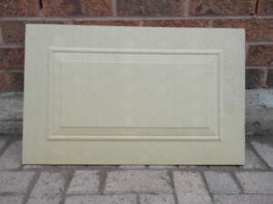 Garage Door Panel Insert, Wood, New