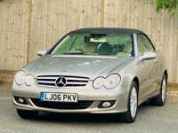 Mercedes-Benz CLK 3.0 CLK280 Elegance Cabriolet 7G-Tronic 2dr
