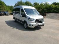 Ford Transit 410 L3H2 Limited15 Seat Minibus 70 plate in silver