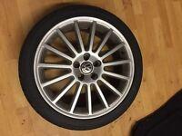 VW GOLF MK4 R32 alloys with tyres