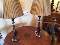 Beautiful Matching Lamps