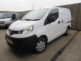 NISSAN NV200 SE VAN 2013 1.5 DCI 110 BHP AIR CON FULL NISSAN SERVICE HISTORY VGC