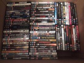 213 DVD's 50p each