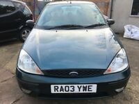 2003 FORD FOCUS MANUAL DIESEL LONG MOT EXCELLENT CONDITION DRIVE SPOT ON