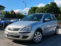 2006 VAUXHALL CORSA 1.2i 16v SXI +, ONLY 2 FORMER KEEPERS FROM NEW + HPI CLEAR !