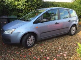 Ford C Max 1.8LX FULL SERVICE HISTORY, recent service and mot. Warranty included