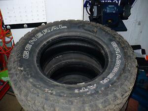265-75-16 General Grabber A2 tires