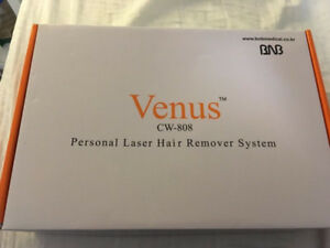 Venus CW-808 nm Laser Hair Remover. In like new condition.