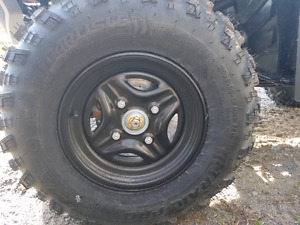Brand New ATV Tires and Rims