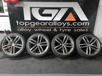 """20"""" RS6-C STYLE ALLOY WHEELS & TYRES"""