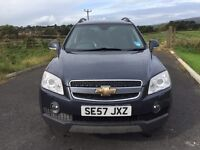 2007 Chevrolet Captiva 2.0 VCDI Automatic 7 Seater Full Leather Top Spec Heated Seats Stunning P/Ex