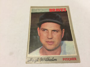 1970 O-Pee-Chee #17 Hoyt Wilhelm Atlanta Braves Baseball Card