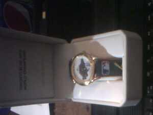 'LIMITED EDITION'  WENGER BLUEJAYS BACK 2BACK WORLD SERIES WATCH