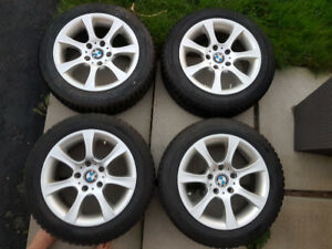 BMW rims and winter tires