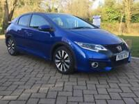 Honda Civic 1.8 i-VTEC ( 142ps ) ( Honda Navi ) Auto 2015MY SR (Honda Connect