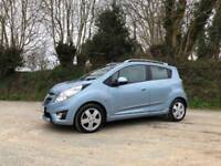 2011 11 CHEVROLET SPARK 1.2 LT ICE BLUE ONLY 34000 MILES FULL SERVICE HISTORY