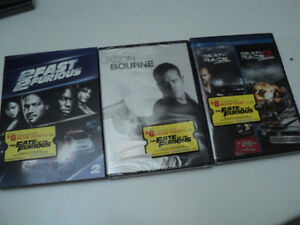 3 DVD d'action