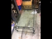Coffee Table wrought iron heavy quality