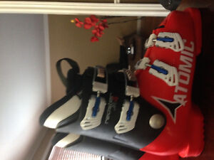 Downhill ski youth boots