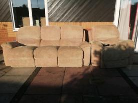 Sofa & Electric armchair.