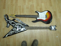 Aa's of hearts pawn 2 Guitars for sale!