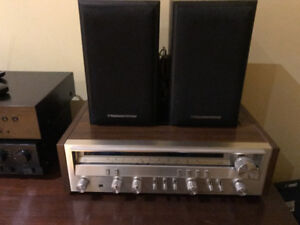 Pioneer receiver SX-3700 with Cerwin Vega 2x50Watts speakers